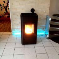 Acorn Renewables Ltd Mcz Tray Wood Pellet Stovemcz