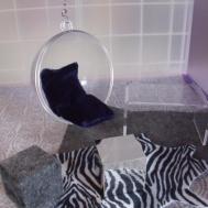 Acrylic Clear Bubble Chair Eero Aarnio Design
