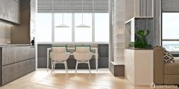 Adding Decorative Plants Minimalist Apartment