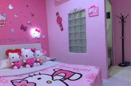 Adorable Hello Kitty Bedroom Decoration Ideas Girls
