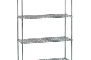 Advance Tabco Ecc 1460 Wire Shelving Unit