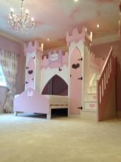 Alexa Princess Castle Bed Children Themed Beds