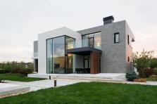 Alexandra Fedorova Designs Elegant Contemporary House
