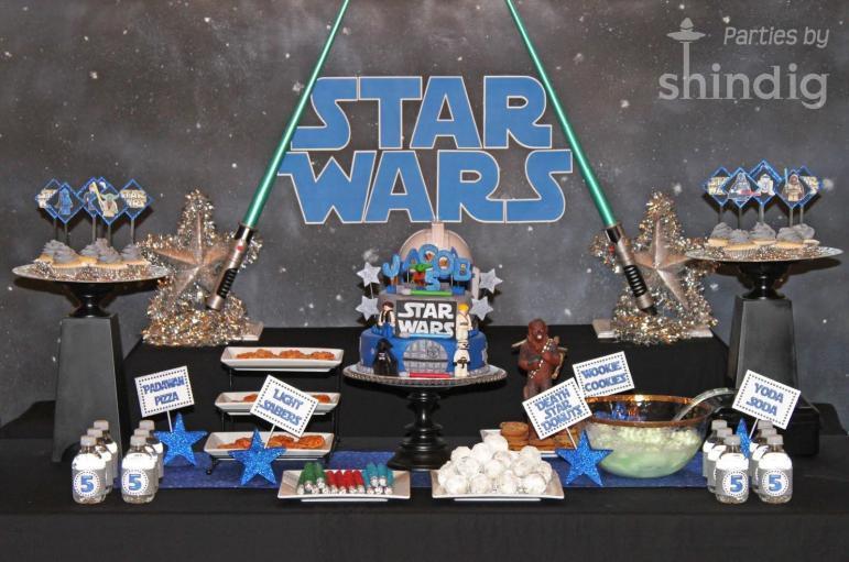 Amanda Parties Star Wars Party Details