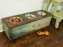 Amazing Diy Dog Feeding Stations Storage