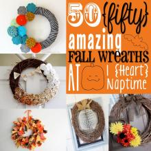 Amazing Fall Wreaths Heart Nap Time