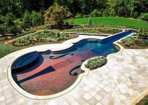 Amazing Stradivarius Violin Swimming Pool Creates Backyard