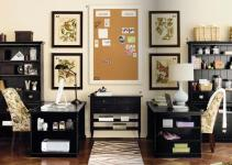 Amazing Trendy Fair Black Wooden Office Cabinet Ideas 5380