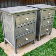 Ana White Drawer Night Stands Diy Projects