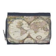 Ancient Antique Map World Wallet Zazzle