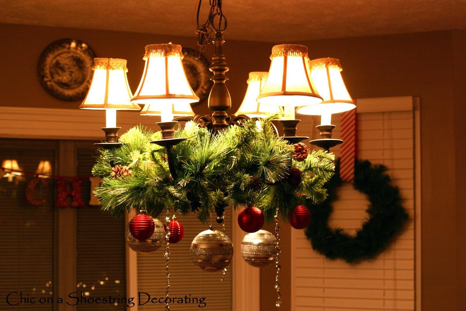 38 Crazy Ideas To Make Christmas Chandeliers That You Will Be Admired Of Diverse Designs Decoratorist