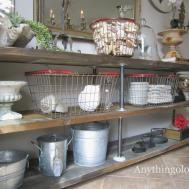 Anythingology Diy Industrial Shelves