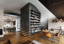 Apartment Awesome Industrial Loft Ideas