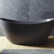 Aquatica Purescape 171 Black Freestanding Solid Surface