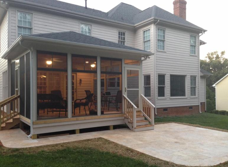 Archadeck Outdoor Living Simple Parking Under Deck