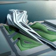 Architectural Moleskine Zaha Hadid Performing Arts