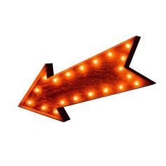 Arrow Vintage Marquee Sign Lights Rustic Buy