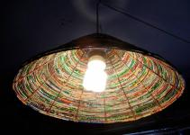 Art Cycling Diy Lamp Shades Made Junk