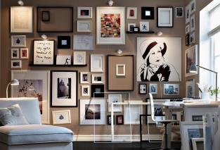 Art Wall Monochrome Framed Collection Sketches