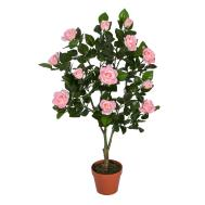 Artificial Potted Rose Tree Plants White Pink Red Wedding