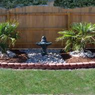 Artistic Outdoor Garden Fountains Room Design Ideas
