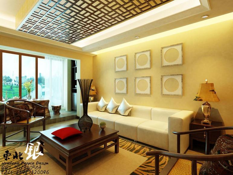 Asian Influence Themed Wall Decor Interior Design Ideas