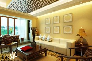 Asian Influence Themed Wall Decor Interior Design Ideas