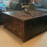 Astonishing Extra Large Square Coffee Table
