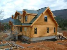 Avalon Luxury Log Homes Home Neighborhood
