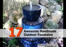 Awesome Handmade Outdoor Fountains