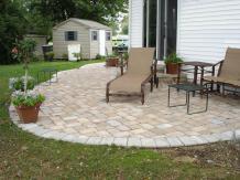 Awesome Stone Patio Design Ideas Contemporary