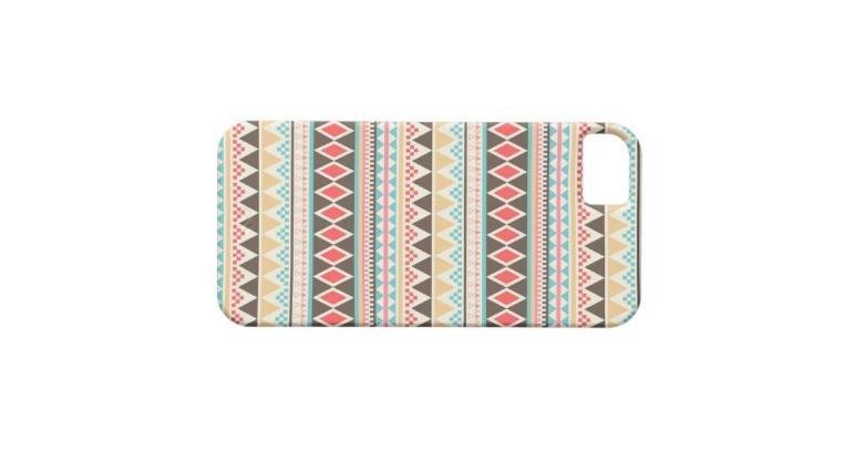 Aztec Pattern Iphone Case Zazzle