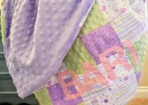 Baby Blanket World Map