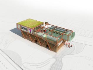 Baca Architects Proposes Prefabricated Amphibious Housing