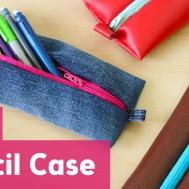 Back School Diy Pencil Case Zipper Sea Lemon