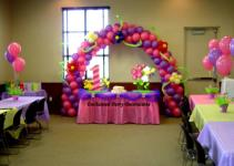 Balloon Decorations Ideas Kids Dromidd Top Party
