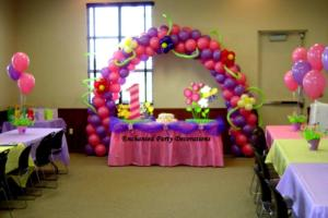 Balloon Decorations Ideas Kids Dromidd Top Party
