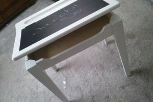Bargain Corner Designs Diy Chalkboard Desk