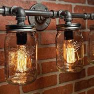 Barn Wood Mason Jar Wall Sconce Diy Time Allows