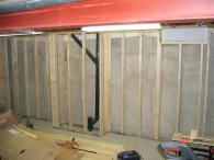 Basement Half Wall Ledge Ideas