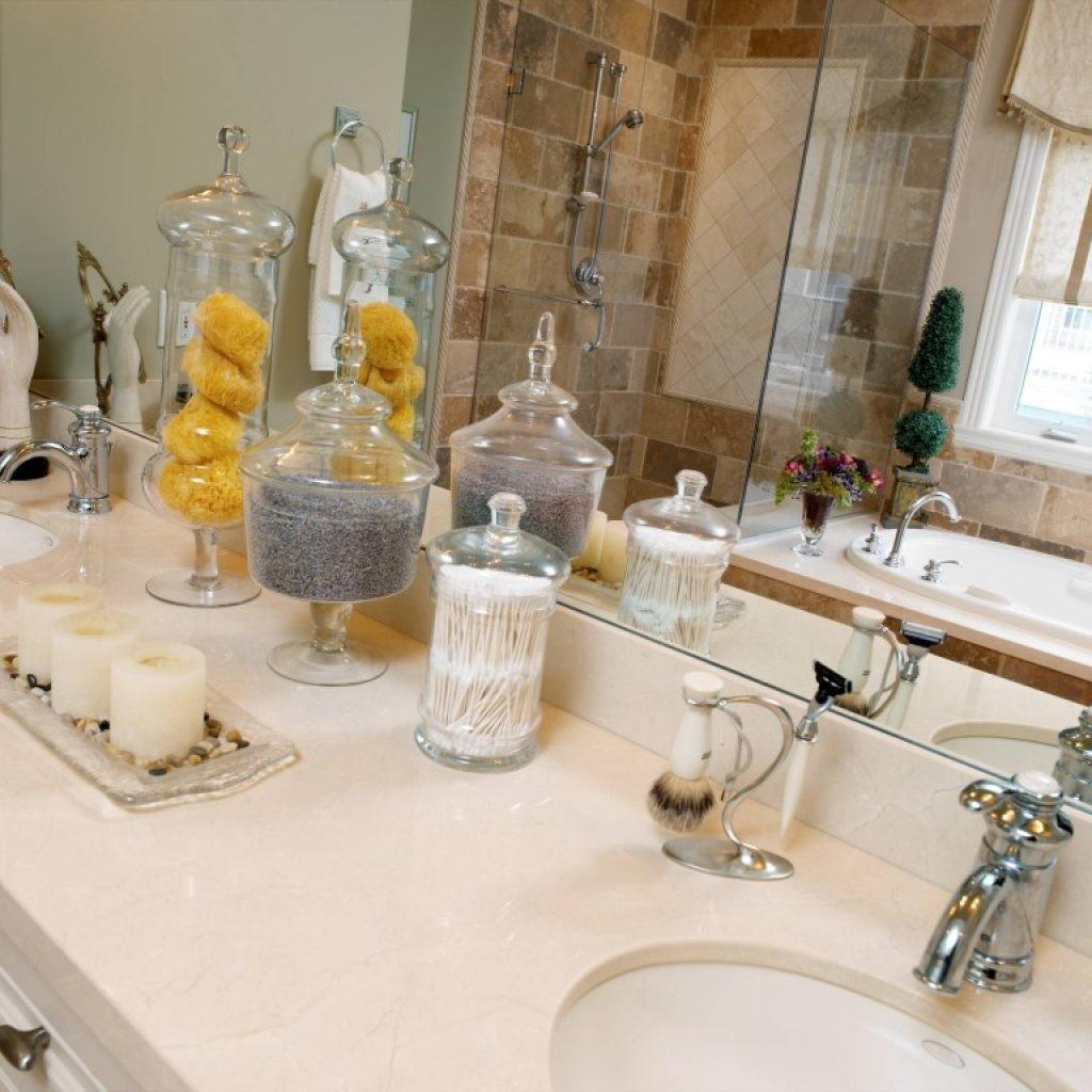 Bathroom Apothecary Jar Ideas Varyhomedesign Decoratorist 90774