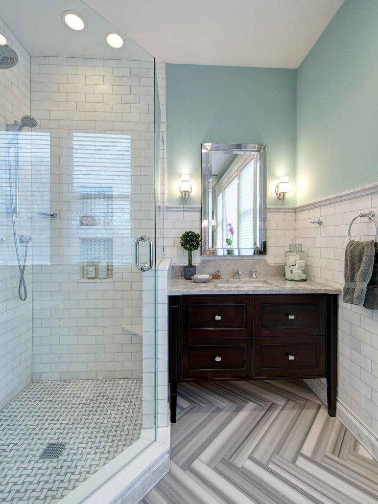 Bathroom Gets Elegant Eclectic Remodel Joni Spear