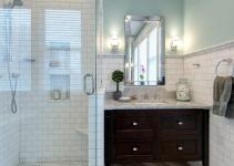 Bathroom Gets Elegant Eclectic Remodel Joni Spear