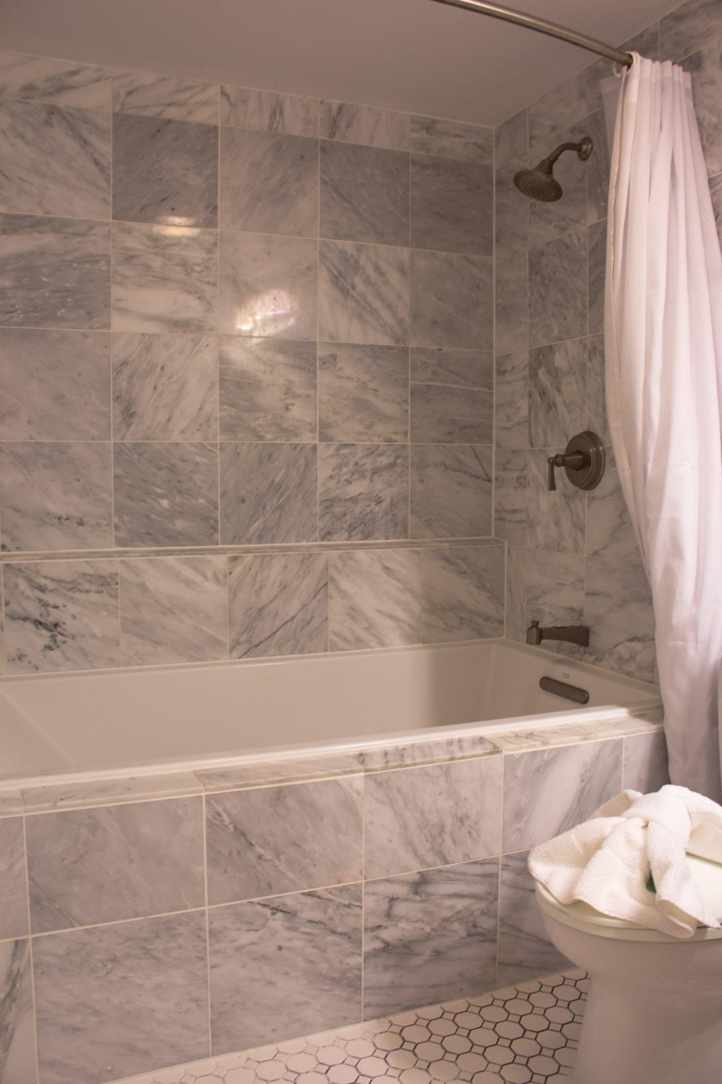 bathroom shower tub tile ideas natural