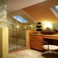 Bathroom Sloped Ceiling Design Love Want Ideas