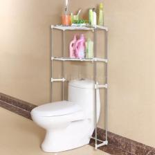 Bathroom Space Saver Storage Cabinet Over Toilet Shelf