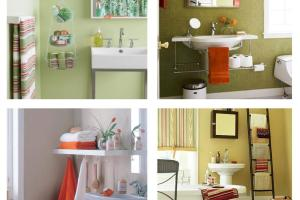 Bathroom Storage Solutions Small Spaces Ward Log Homes
