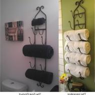 Bathroom Towel Decor Ideas Home Decorations