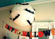 Batty Paper Lantern Get Spooky Diy Decor Ideas