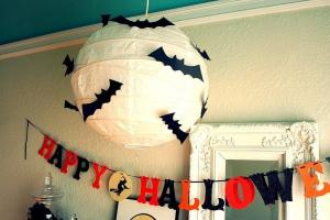 Batty Paper Lantern Get Spooky Diy Decor Ideas